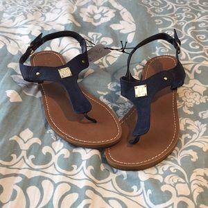 NY&Co navy sandals. Size 9.